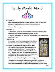 thumbnail of Family Worship Month flyer